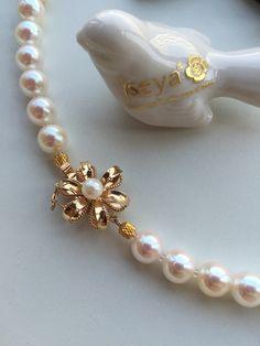 14k金日本产链扣。专串珍珠项链!  http://www.iseya-japan.com