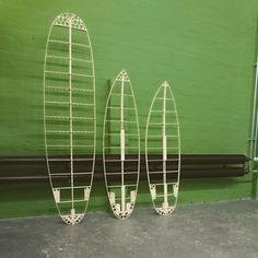 New hollow wood surfboards