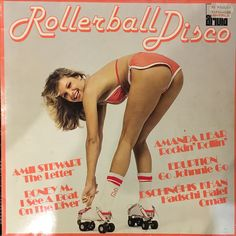 Various - Rollerball Disco (Vinyl, LP) at Discogs Old Scool, Roller Disco, Music Album Covers, California Love, Glam Rock, Film Posters, Festival Fashion, How To Look Better, Lettering