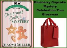 Blueberry Cupcake Mystery by Naomi Miller--Book Review