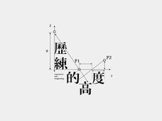 """Chinese font """"歷練的高度"""" by Bc Huang"""