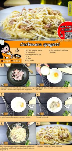 Spaghetti Carbonara Rezept mit Video Source by gudrunrothkugel Related posts: Einfache Spaghetti Carbonara Spaghetti Carbonara – ganz ohne Sahne! Simple spaghetti carbonara Original spaghetti carbonara recipe and great other pasta recipes Crockpot Recipes Mexican, Healthy Crockpot Recipes, Italian Recipes, Spagetti Carbonara, Pastas Recipes, Yummy Pasta Recipes, Dinner Recipes, Recipe Pasta, Gourmet