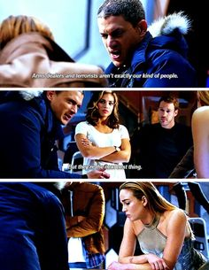 """""""They're the next best thing"""" - Leonard, Kendra, Carter and Sara #LegendsOfTomorrow"""