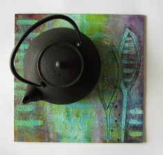 Cork coasters  - acrylic Cork Coasters, Mini