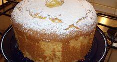 "U na mia ricetta collaudata moltissime volte, troppo buono!! Ingredienti: 6 uova 300 g zucchero 300 g farina ""00"" 150... Angel Cake, Angel Food Cake, American Cake, Torte Cake, Chiffon Cake, Sponge Cake, Biscotti, Antipasto, Cake Cookies"