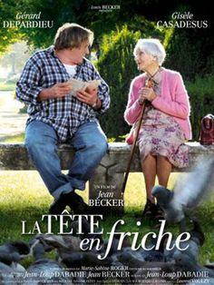 La tête en friche - prachtige film met Gérard Depardieu en de dan 95-jarige (!) actrice Gisèle Casadeus. Lees erover op: http://www.fransefilms.nl/la-tete-en-friche/