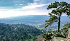 Panorama au rocher de la volpie