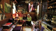There's a wealth of memorabilia in Jenny Birdling's house truck. She is pictured with daughter Kaahu, who was born in ...