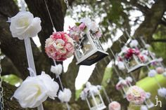 wedding ceremony ideas candles and hanging flowers Ideas Candles, Hanging Flowers, Wedding Ceremony, Wedding Ideas, Weddings, Wedding, Marriage, Wedding Ceremony Ideas