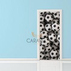 Παιδικό Αυτοκόλλητο Πόρτας μπάλες ποδοσφαίρου Decals, Home Decor, Tags, Decoration Home, Room Decor, Sticker, Decal, Home Interior Design, Home Decoration