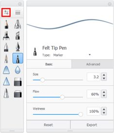 Learn about brush properties, how to use them, rename them, and how to change them in the different versions of Autodesk SketchBook. Sketchbook App, Autodesk Sketchbook Tutorial, Sketches Tutorial, Digital Art Beginner, Soft Pastel Art, Arabic Poetry, Nose Drawing, Digital Art Tutorial, Painting Tools