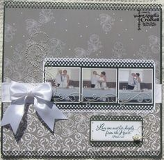 Love One Another Deeply by angelladcrockett - Cards and Paper Crafts at Splitcoaststampers Wedding Scrapbook Pages, Wedding Reception, Wedding Ideas, Love One Another, Have A Blessed Day, Punch, Journaling, Layouts, Special Occasion