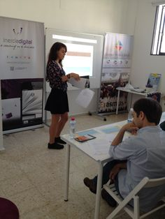 Digitizing educational and training environment with IOT apps - El Rompido, May 2016