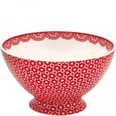 Bol de Porcelana Lina Red Tamaño XL - My Home Style