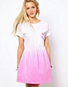 My beautiful dip dye dress - asos.