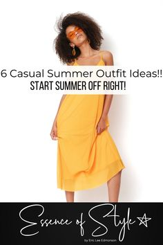 Summer is here! Need some inspiration to build your Summer wardrobe? Help is here, I have styled 6 casual summer outfit ideas to start Summer right! Casual Summer Outfits For Women, Business Casual Men, Mens Clothing Styles, Summer Wardrobe, Daily Fashion, Casual Looks, Fashion Outfits, Fashion Trends, Outfit Ideas