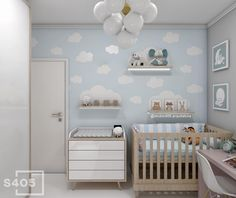 Things To Do Immediately About Baby Boy And Girl Nursey Room Ideas If you want to conceive a boy, you should know the precise day. A tiny boy is born, rather large and definitely lazy. Folks start to speculate if you . Baby Boy Room Decor, Baby Bedroom, Baby Boy Rooms, Nursery Room, Kids Bedroom, Cloud Bedroom, Girls Room Paint, Girls Room Design, Baby Room Design