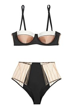 Kiki de Montparnasse bra and underwear from net-a-porter