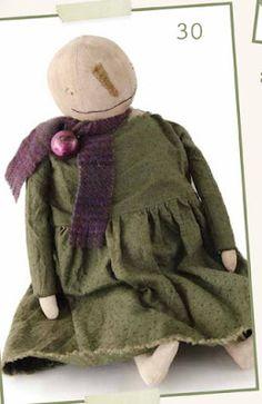 Rabbit Hill Primitives doll