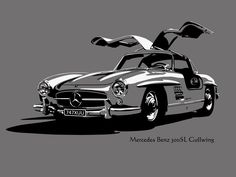 Mercedes-Benz 300SL Alas de Gaviota (Gullwing)
