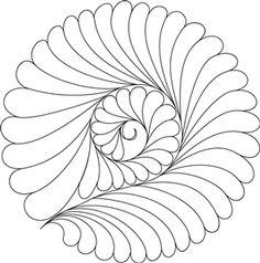 Quiltworx Splash Digital Design #1