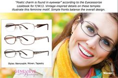 F/W2013 Eyewear Trends. We will help you choose the most flattering eye wear looks for your face!