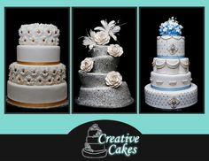 Creative Cakes Wedding Cakes on WeddingWire
