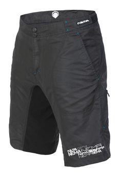The Nema 2012 Searcher short - Black (front) $74.99 #realtruecycling #mtb #nema - Nema Downhill MTB http://shop.nemacycling.com/searcher-short/