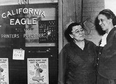 Charlotta Bass ran the California Eagle for 40 years