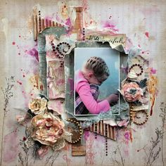 eleele-handmade: Mulberry Flower Tutorial - Donna Salazar GDT