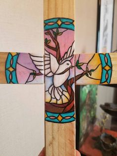 Check out this item in my Etsy shop https://www.etsy.com/listing/468883717/lovely-stained-glass-inspired-wooden