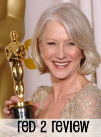 Full of grace and poise, Dame Helen Mirren reprised her role as The Queen in The Audience. Also, she is killing Bruce Willis in RED 2.
