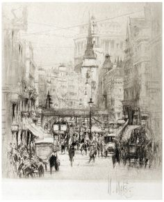 William Wolcott, Ludgate Hill