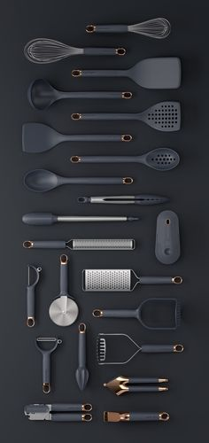 Klicken Sie auf Clack Prep Tools on Behance - Küchengeräte Cool Kitchen Gadgets, Home Gadgets, Kitchen Items, Cool Kitchens, Kitchen Decor, Design Kitchen, Spy Gadgets, Electronics Gadgets, Bedroom Gadgets