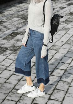 inspiration: the cropped denim