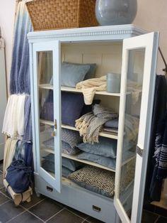 Woontextiel in blauw.