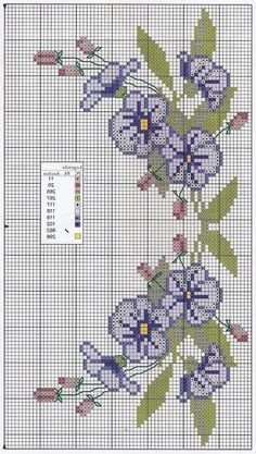 This type of photo is truly a formidable style principle. Cross Stitch Letters, Cross Stitch Bookmarks, Cross Stitch Rose, Cross Stitch Borders, Cross Stitch Flowers, Cross Stitch Charts, Cross Stitch Designs, Cross Stitching, Cross Stitch Embroidery