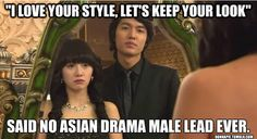 And half the time the new look is still awkward!  #kdramahumor