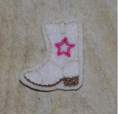 All Designs :: 2015 Design Sale :: Cowboy Boot Feltie