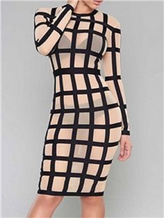 d144439d566 Dare to go there with this semi sheer bandage paneled cage dress. This HER  JUNCTION s exclusive piece utilizes mesh and bandage to a sexy and  spectacular ...