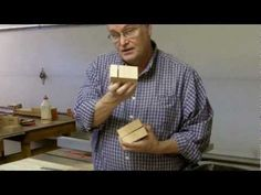 ▶ Wood Base For Stained Glass Fan Lamps - YouTube