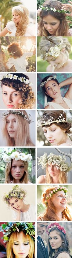 Bridal Wreaths For Your Wedding Day November Wedding Flowers, Dream Wedding, Wedding Day, Her Hair, Bridal Hair, Make It Simple, Wedding Hairstyles, Wreaths, Floral Crowns