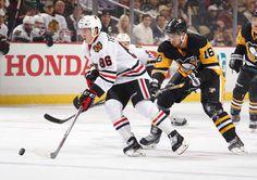 1.21.15 Hawks vs Pens - Teuvo - Photo by Gregory ShamusNHLI via Getty Images