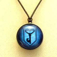 Two sided Ingress pendant by Amplink on Etsy