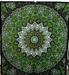 Indian Star Mandala Hippie Bedspread Tapestry Throw Bhohemian Decor Art #RajasthaniArtPalace #ArtDecoStyle