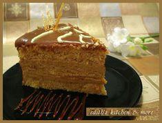 TORT CARAMEL - Edith's Kitchen Edith's Kitchen, Tiramisu, Caramel, Cake, Ethnic Recipes, Desserts, Food, Sticky Toffee, Tailgate Desserts