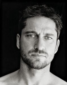Gerald Butler- I don't know if he'd have anything interesting to say, but I'd love to hear him say it!