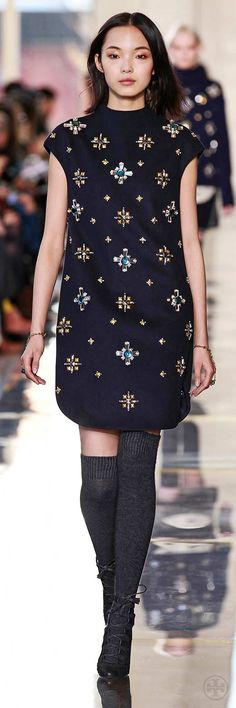 Tory Burch Fall 2014: Look 23 #toryburch #toryfall14  #nyfw