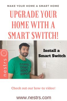 We're turning all of our Airbnbs into SMART Airbnbs! Cost of smart products are more affordable than ever! In this video, we show you how to install smart switches so your family or your guests and control lights from an app! www.nestrs.com