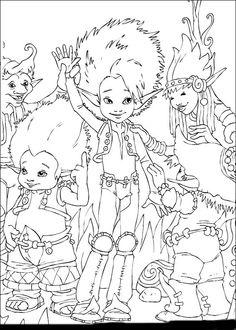 Desenhos para pintar Arthur 54